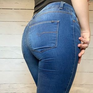 Noisy May Blue Denim Jeans